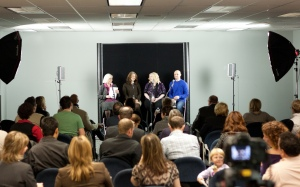"""Capital Ideas held its 13th event, """"Building a Business,"""" on Jan. 23, 2013 at the Edmonton Journal."""