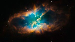 No, not that kind of space. But nice image, Hubble.